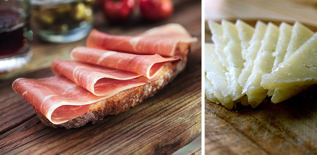 Jamon and Cheese - Food in Valencia