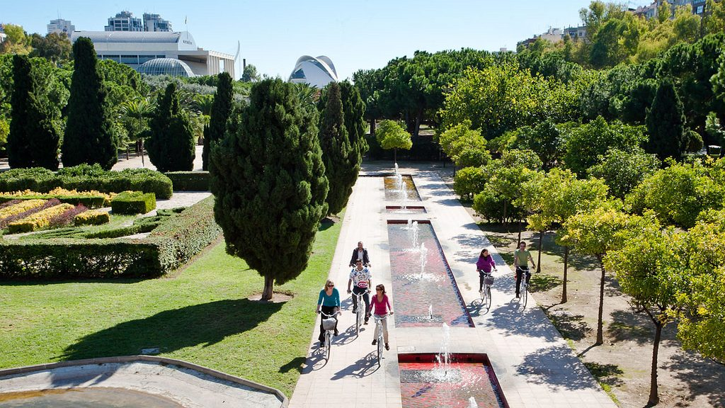 Turia Gardens by Bike - Best things to do in Valencia
